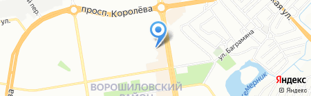 Декор Металл-Юг на карте Ростова-на-Дону