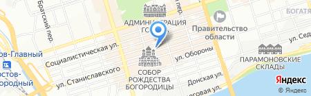 Шанти на карте Ростова-на-Дону