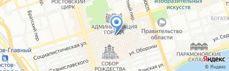 Атлас Мира на карте Ростова-на-Дону