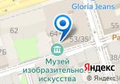 Музей Современного Изобразительного Искусства на Дмитровской на карте