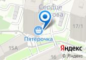 Сердце Ростова на карте