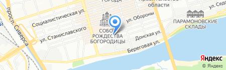 Континенталь-Групп на карте Ростова-на-Дону