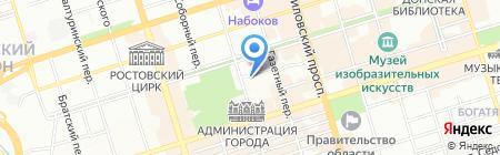 Детский сад №156 на карте Ростова-на-Дону