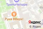 Схема проезда до компании Rекламист в Ростове-на-Дону