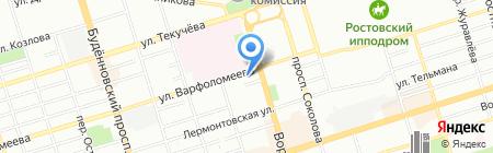 Диофарм Ростов на карте Ростова-на-Дону