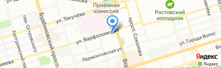 Салон белья на карте Ростова-на-Дону