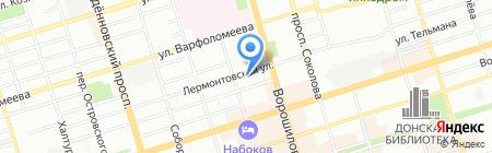 ПОЗИТИFF на карте Ростова-на-Дону