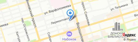 МирДон на карте Ростова-на-Дону