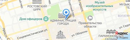ЕС на карте Ростова-на-Дону