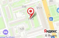 Схема проезда до компании Донстройдизайн в Ростове-На-Дону