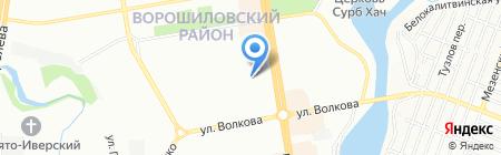 Детский сад №267 на карте Ростова-на-Дону