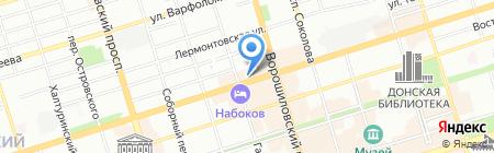 Банкомат КБ Транснациональный банк на карте Ростова-на-Дону