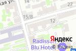 Схема проезда до компании Все грани полезного в блокноте в Ростове-на-Дону