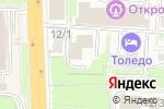 Схема проезда до компании Cactus в Ростове-на-Дону