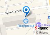 Магазин ножей на карте