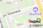 Схема проезда до компании MAYKOR в Ростове-на-Дону
