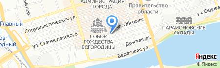 Семена на карте Ростова-на-Дону