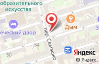 Схема проезда до компании Общественная Городская Организация Федерация Футбола в Ростове-На-Дону