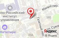 Схема проезда до компании Легион в Ростове-На-Дону
