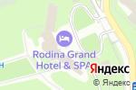 Схема проезда до компании РОДИНА Гранд Отель и СПА в Сочи