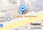 Дворец творчества детей и молодежи г. Ростова-на-Дону на карте
