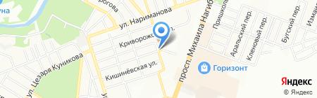 М.П. Сервис на карте Ростова-на-Дону