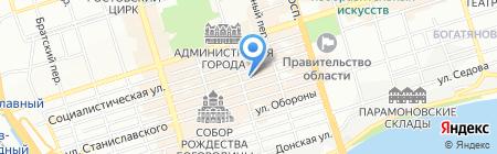Территория Еды на карте Ростова-на-Дону