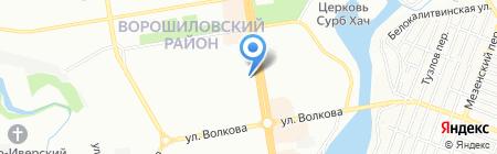 Алёнка на карте Ростова-на-Дону