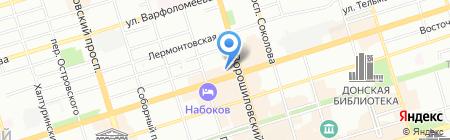 Донпрод на карте Ростова-на-Дону