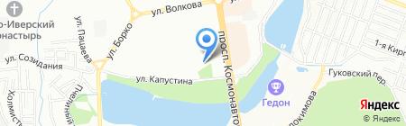 Акафарм на карте Ростова-на-Дону