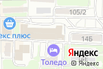 Схема проезда до компании СплитЦентр в Ростове-на-Дону