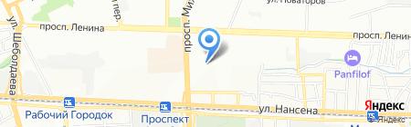 Оникс на карте Ростова-на-Дону