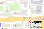 Схема проезда до компании Аквариум в Рязани