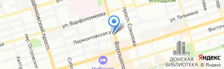 EMS Почта России на карте Ростова-на-Дону
