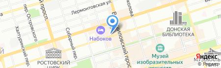 Кинза на карте Ростова-на-Дону