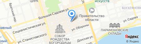Ирлана Тур на карте Ростова-на-Дону