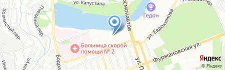 Вершина на карте Ростова-на-Дону