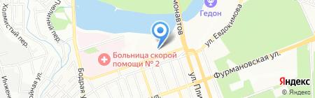 Максим-Сервис на карте Ростова-на-Дону