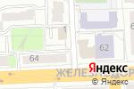 Схема проезда до компании Мастерская в Рязани