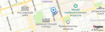 Славяне на карте Ростова-на-Дону