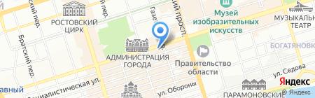Банкомат Банк ЗЕНИТ на карте Ростова-на-Дону