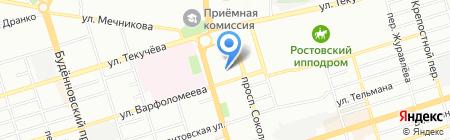 Энергия на карте Ростова-на-Дону