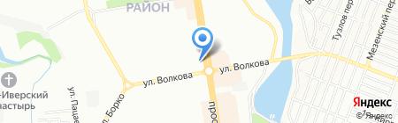 Юнис швейные машины на карте Ростова-на-Дону