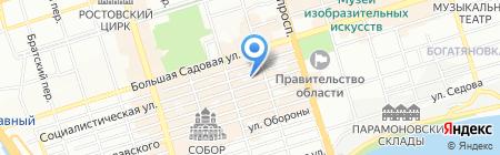 Большая Медведица на карте Ростова-на-Дону