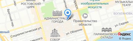 Регион Медиа на карте Ростова-на-Дону