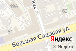 Схема проезда до компании Хобби-Центр в Ростове-на-Дону