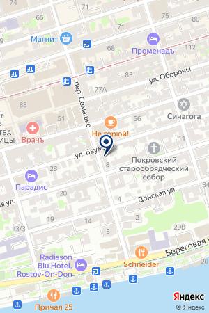 Мой Сад на карте Ростова-на-Дону