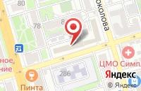 Схема проезда до компании Атен Паблишинг в Ростове-На-Дону