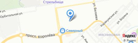 Галерея прессы на карте Ростова-на-Дону