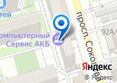 АКБ на карте